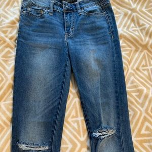 Aeropostale Mid Rise Ankle Jeans